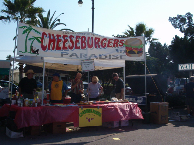 Sertoma Club of Venice Cheese Burgers In Paradise!!! Sun Fiesta!!!